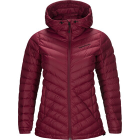 Peak Performance Frost Down Hood Jacket Women rhodes